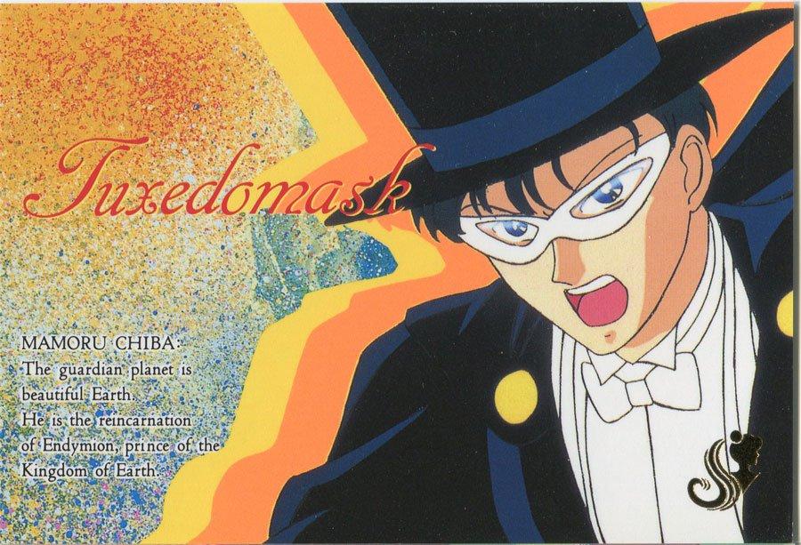 Charamide set 2 (Tuxedo Mask)