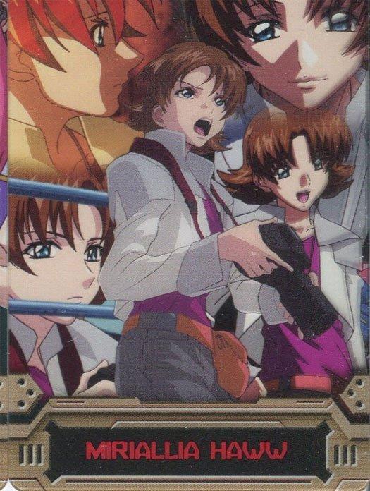 Gundam Seed Destiny cel card (Mirialla Haww)