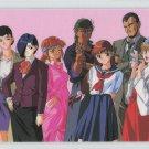 Blue Seed Idol card (Group shot)