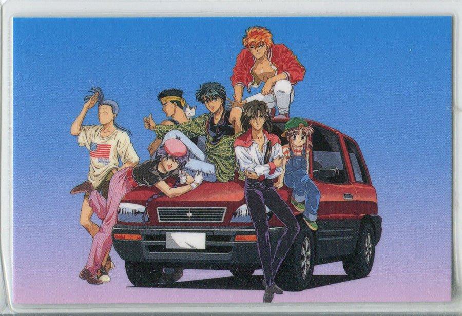 Fushigi Yuugi Idol card (real world w/ car)