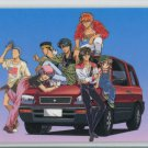 Fushigi Yuugi Idol card (real world w/ car)