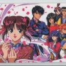 Fushigi Yuugi Idol card (group with blossoms)