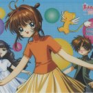 Card Captor Sakura shitajiki (group w/ bubbles)  CLAMP