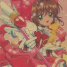 Card Captor Sakura shitajiki (Close up in Pink)  CLAMP
