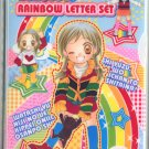 Yuzuyu's Rainbow Letter Set/ clear file