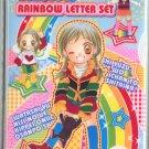 Yuzuyu's Rainbow Letter Set/ clear file