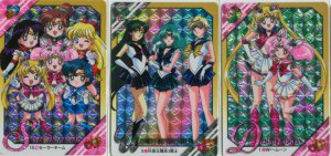 Sailor Moon Graffitti 8 Prism set