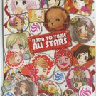 Hana to yume furoku sticker flakes