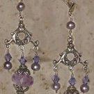 Purple persuasion Amythest earrings