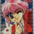 "Magic Knight Rayearth Hikaru ""YPL"" prism card *RARE*"