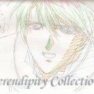 Fushigi Yuugi Production art (Tamahome)