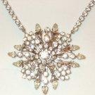 Vintage Rinestone (crystal) Necklace