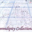Bleach Ichigo, Kon, & Ruikia animation sketch and background set