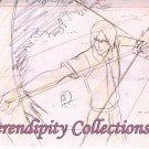 Ishida Uryu production sketch and background set