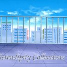 Beautiful building top and sky production background