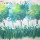 Kyo Kara Maou production backgrounds 7 (Lilly and Trees)