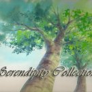 Beautiful Mother tree production background