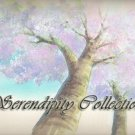 Beautiful Mother tree in watercolors production background