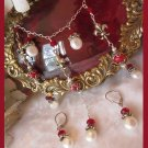 At the Ren-Faire Necklace set with Flur d'le