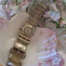 Etched design woman's watch (Vintage)