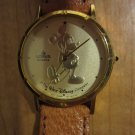 Disney gold embossed design Mickey watch