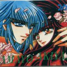 Hyper Rune phone card (manga art) CLAMP
