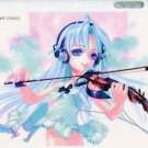 K-books choco girl violinist shitajiki