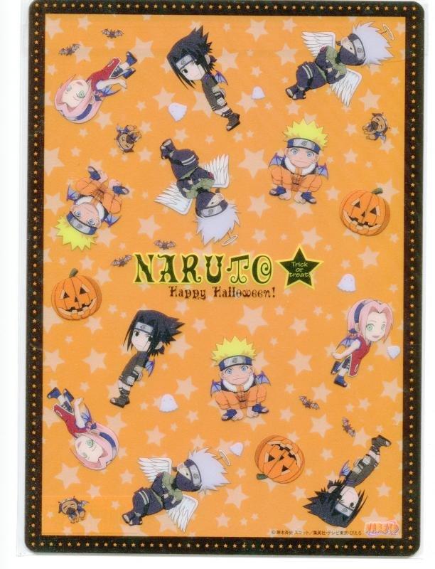 Naruto shitajiki (halloween) 0904