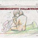 Vampire Knight Production art (Zero hungry and Yuki) box 4