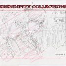 Vampire Knight Production art (Kaname and Yuki outside)- box 4