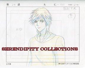 Yamato Nadeshiko, production art set (Kyohei looking at something)