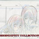 Vampire Knight Production art (Kaname & Yuki Cuddle) -