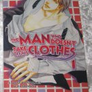 The Man Who Doesn't Take off His Clothes vol 1 (yaoi novel)