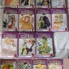 Ouran Host Club Manga set Vol 1, 2 4-11, 13-17 by Bisco Hatori