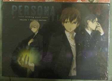Persona Trinity Soul Premium DVD/Blu-ray box set (OOP, Sealed, New!!)