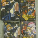 Chrono Crusade Vol 1-3 + Artbox DVD set (Open, new) OOP!!