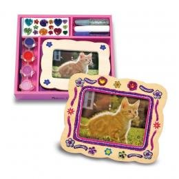 Picture Frame - DYO  Picture Frame Decorate-Your-Own Party Favors - 4739065