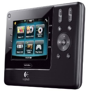 Logitech Harmony 1100 Universal Remote with Color Touch Screen-4894469