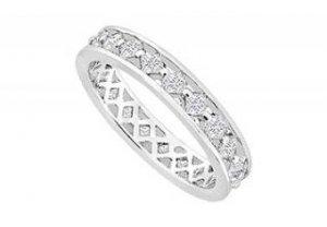 Diamond Eternity Band : 14K White Gold - 1.00 CT Diamonds- 5965986 - 100 in stock