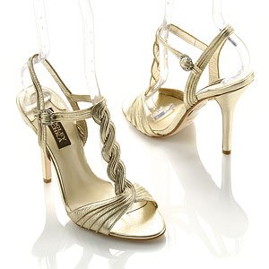 Sabetta T-Strap Satin Dress Sandal