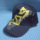 Mesh Cap (Blue with Yellow Wording)