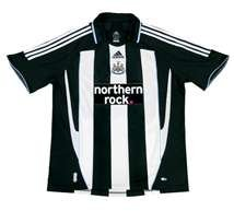 Newcastle United Home Jersey 08/09