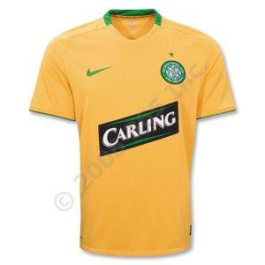 Celtic Away Jersey 08/09