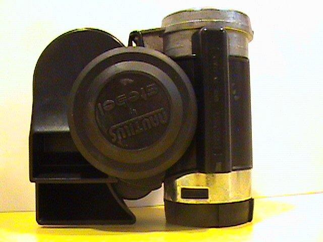 Stebel Nautilus Compact Air Horn - Black