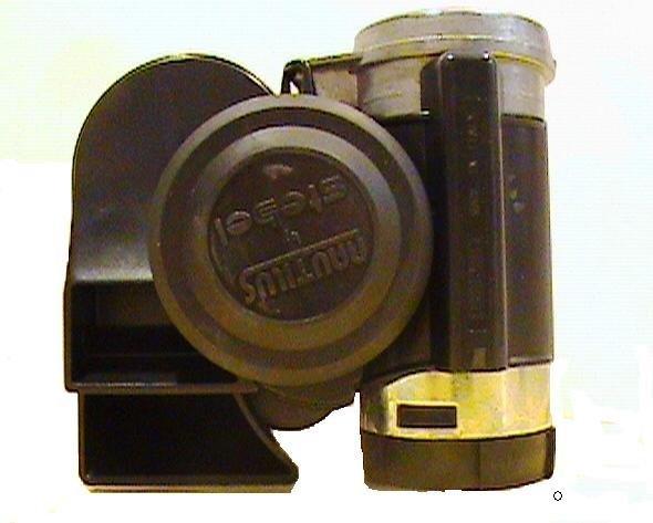Stebel Compact Nautilus Air Horn (Black)
