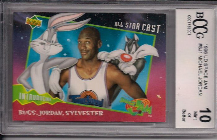 Michael Jordan 1996 UD Limited Edition Space Jam