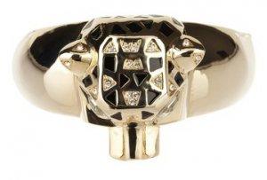 NEW $55 Meghan LA Fabulous Lima Animal 14K Gold Plated Bangle Bracelet