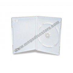 14mm DVD Case Single White 25pcs/pack