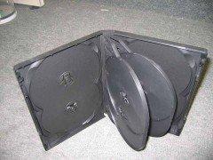 22MM 8-IN-I DVD CASE BLACK 10 Pack