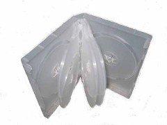 27MM DVD CASE 8-IN-1 SEMI-CLEAR 10Pcs/Pack
